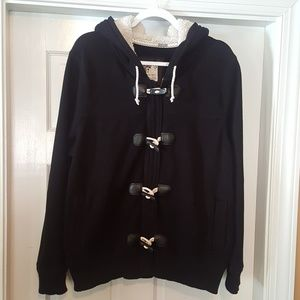 Old Navy  Black Sweater Toggle XL Coat